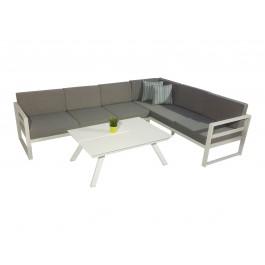 Catalina hvit med Gurncy sofabord