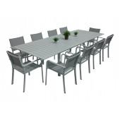 Caribia spisegruppe m 10 stoler