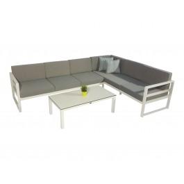 Catalina hvit med Benidorm sofabord