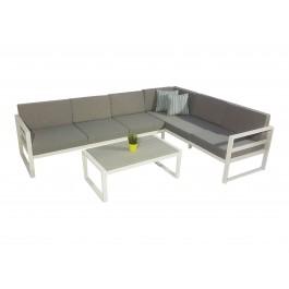 Catalina hvit med Postiano sofabord