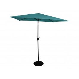Fritid parasoll 2x2 azur blå