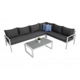 Kragerø sofagruppe hvit m Postiano sofabord