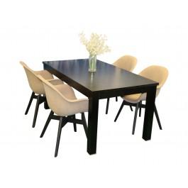Mayfair spisebord med Tam inne stol