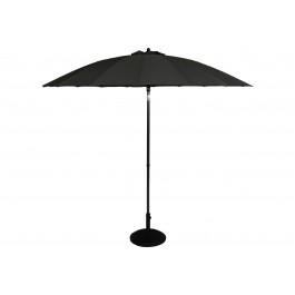 Osaka parasoll 270 cm diameter mørk grå