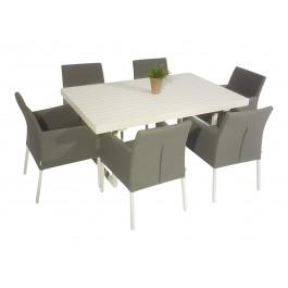 Savage spisgruppe med 6 stoler