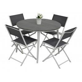 Scano 100d hvit med tasty stol