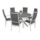 Scano 150d hvit med Dominica stol